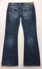 X24 Silver Jeans PRINCESS Low Rise Bootcut sz 31x30 (Mea 33x31) LIMITED EDITION