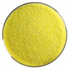 Uroborus Coe96 Fine Glass Frit Uf2021 Yellow Transparent 8.5 oz Full Jar