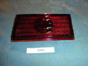 1941-46 Packard Clipper Taillamp Glass Lens 371615 NOS