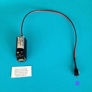 Dummy Alarm Box LED - Single Blue Flash - Full Fitting Instructions 10yr Battery