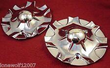 Baccarat Wheels Chrome Custom Wheel Center Caps Set of 2 # C1120-CAP (1)