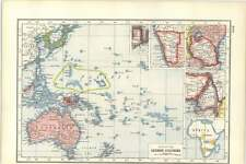 WW1 Interest Map of Fate of the German Colonies
