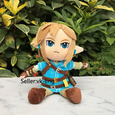 Lovely Link Plush The Legend of Zelda: Breath of the Wild Stuffed Toy Doll 25cm