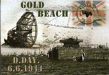WW2 - CP - D.DAY 6.6.1944 - GOLD BEACH