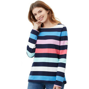 Joules Womens Harbour Boat Neck Long Sleeve Harbour Top