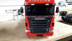 Chrome Trucker Babes For 1//14 Tamiya Scania Trucks ect