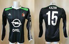 Feyenoord Rotterdam #15 Kazim 2014/2015 Away Size S Adidas shirt jersey soccer