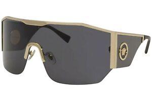 Versace VE2220 100287 Gold VE2220 Visor Sunglasses Lens Category 3 Size 41mm