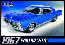 1967 Pontiac GTO MPC 710 1/25 Car Plastic Model Kit