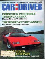 Car And Driver Magazine December 1975 Lamborghini Countach VG 051717nonjhe