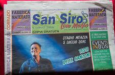 SAN SIRO LIVE MUSIC magazine Bruce Springsteen ps 2016 # 32 RARO PJ