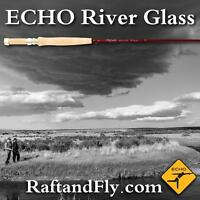 "ECHO River Glass 5wt Amber Caramel 8'6"" - Lifetime Warranty - FREE SHIPPING"