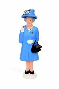 Solar Queen Königin Elisabeth Figur DERBY EDITION Blau winkt mit der Hand
