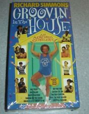 Richard Simmons Groovin in the House VHS NEW ~ 018713097187