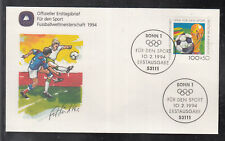 "Germany 1994 ""Football World Cup"" beautiful artist FDC"