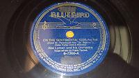 ABE LYMAN On The Sentimental Side / This Is My Night To Dream 78 Bluebird B-7366