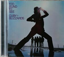 Cuby & the Blizzards-Too Blind to See Dutch psych cd