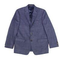 Lauren by Ralph Lauren Mens Blazer Blue Size 56 X-Long Big & Tall Plaid $295 124