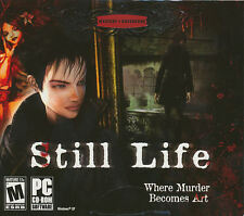 STILL LIFE - Original Microids Murder Mystery Adventure PC Game - NEW SEALED!