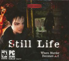 STILL LIFE - Original Microids Murder Mystery Adventure PC Game - NEW SEALED!
