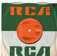 "Wilson Pickett - Take Your Pleasure Where You Find It 7"" Single 1974"