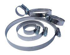 Schlauchschellen Edelstahl V2A A2 W4 Schneckengewinde DIN 3017 von 12 bis 160mm