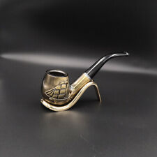 pipe à tabac sculpture voillier  en résine