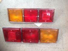 FIAT 132 1 SERIE COPPIA FANALI POSTERIORI ALTISSIMO REAR LAMPS