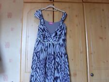 FASHION BY TOGETHER GORGEOUS LILAC, GREY & PURPLE PARTY DRESS, SIZE XL