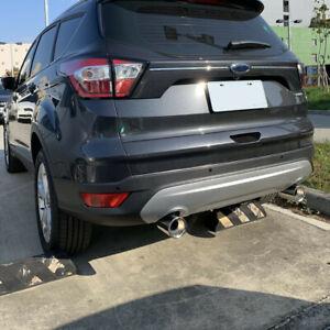 Edelstahl Auspuffblende Auspuff Endrohr Blende Chrom Passend für Ford Kuga II
