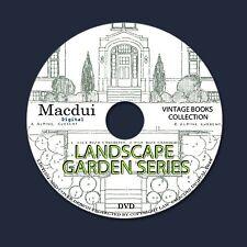 Landscape Garden Series – Vintage E-books 10 Volumes PDF on 1 DVD Flowers Flora