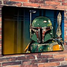 "Art Quality Canvas Print Oil Painting Boba Fett Naemnik Zvezdnye A4101,16""x20"""