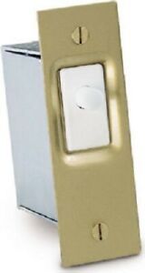 ECM, Door Switch, Brass Mounting Plate & Steel Box, GSW-SK