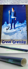 NITF ☆ Factory OLD STOCK ☆ Nike Hockey Poster ☆ The GREAT GRETZKY Wayne One NHL