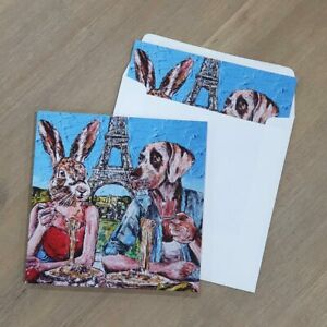 GILLIE AND MARC. Direct from artists. Pop Art Print Greeting Card Gift Set of 5