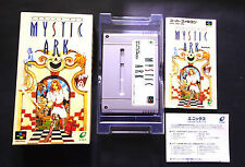 MYSTIC ARK Nintendo Super Famicom SFC Excellent Condition !