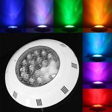 7 Colors 24V 18W LED RGB Underwater Swimming Pool Bright Light /Remote Cont M2E2