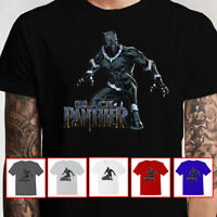 Slicksleek Apparel Black Panther T'Challa Super Hero Premium T-Shirt