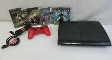 New listing Sony PlayStation 3 Super Slim Ps3 Bundle (Cech-4210A, 500 Gb) with 4 Games