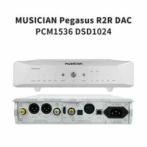 MUSICIAN PEGASUS R2R Resistance DAC 32Bit/1536kHz PCM1536 USB Balanced Decoder