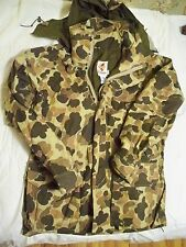 Vintage Camo Hunting Columbia Parka Men's Medium Shell Good Condition Gore Tex
