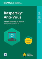 Kaspersky Antivirus security 2019 1 PC Device 1 year Global Key