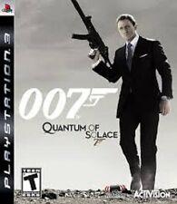 007 QUANTUM OF SOLACE 7 PER PLAYSTATION 3 PS3 USATO OTTIME CONDIZIONI ITALIANO