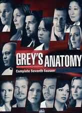 Grey's Anatomy: Complete Seventh Season [6 Discs] (2011, DVD NIEUW) WS6 DISC SET