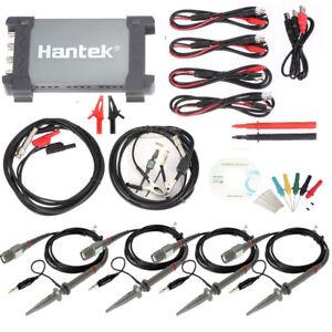 6254BE Hantek Diagnostic Tool USB 1GSa/s 250MHz Auto Digital Oscilloscope 4CH