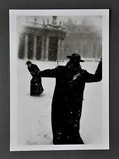 Leonard Freed Limited Edition Photo 17x24cm Vatikan Rom 1958 Vatican Rome B&W SW