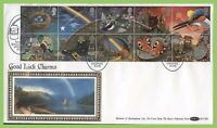 G.B. 1991 Greetings Charms on Benham First Day Cover, Rainbow, BLCS61