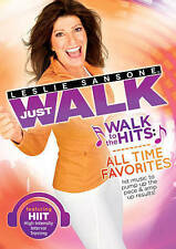 LESLIE SANSONE Just Walk WALK TO THE HITS All Time Favorites DVD HIIT Brand NEW