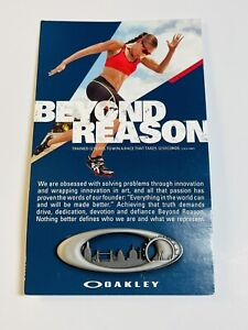 New Oakley Pin 2012 London Summer Olympics Promo X Metal Display Rare With Card