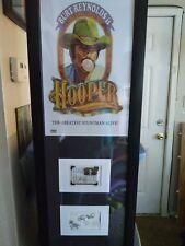 Burt Reynolds Sally Field Signed Hooper Genuine